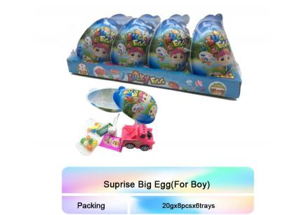 Lucky Egg For Boys 20g*8ks